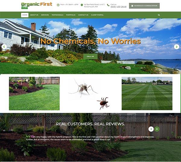 organic first lawn care