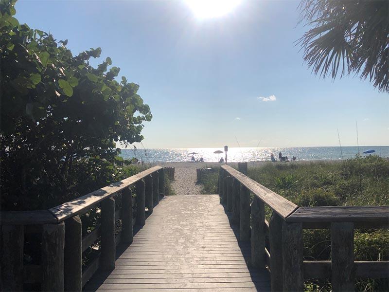 Beach in Engelwood, Florida